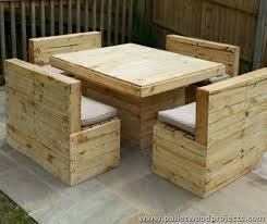 Captivating Pallet Outdoor Table Diy Wood Pallet Patio Table