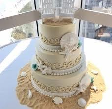 Marvelous Ideas Beach Wedding Cakes Astounding Archives Croissants Myrtle Bistro Bakery