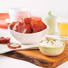 recette de cuisine en chips de salami et trempette à l estragon recettes cuisine et