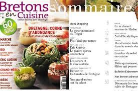 magazine de cuisine bretons en cuisine un automne gourmand au sommaire du n 3
