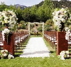 Rustic Outdoor Wedding Decorations Ceremony Decoration Ideas