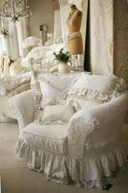 Shabby Chic Dining Room Chair Covers by Decor Lovely Shabby Chic Slipcovers For Enchanting Furniture
