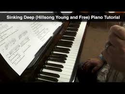 sinking piano easy sinking hillsong and free piano tutorial