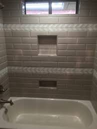 subway with sass take a look at this fun tub surround the bevel