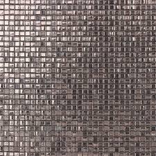 grey glass mosaic backsplash wall decoration tiles design