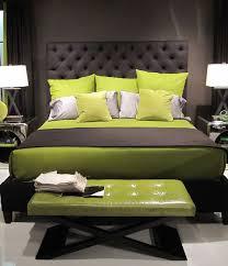 Wonderful Green Black Wood Modern Design Lime Bedroom Ideas Mattres Cushion Cover Bed