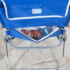 Rio Hi Boy Beach Chair With Canopy by Amazon Com Rio Hi Boy Backpack Beach Chair With Cooler Garden