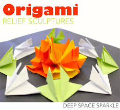 Try This Paper Craft With Your Kids And Learn Radial Symmetry Origami