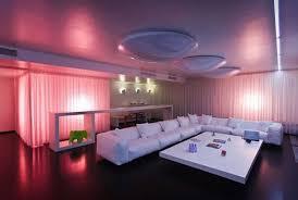 mood lighting ideas living room with led light home interior