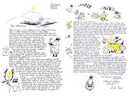The Santa Claus letter by Tove Jansson Moomin Moomin