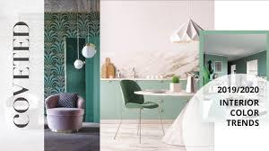 100 Interior Design Mag Color Trends 2019 CovetED Azine
