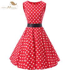 online get cheap pin up dotted dress aliexpress com alibaba group