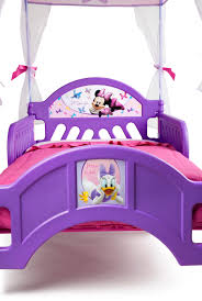 bedroom disney princess toddler bed with canopy minnie mouse