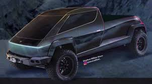 100 Picture Of Truck Elon Musks Cyberpunk Tesla Pickup Comes To Life In