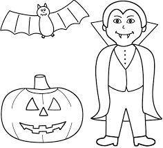 Download Vampire Colouring Pages