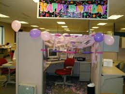 How To Decorate A Cubicle For Birthday Decorating fice Birthdays