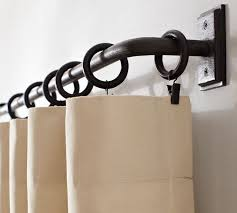 Bendable Curtain Track Nz by Best 25 Black Curtain Pole Ideas On Pinterest White Curtain