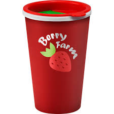Promotional Reusable Coffee Cup Mug 350ml Red