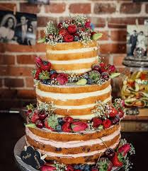 Would You Like To Order And Unfrosted Wedding Cake