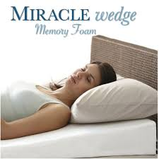 Jobri Spine Reliever Bed Wedge by Bedding Inflatable Bed Wedge Bed Sleeping And Reading Pillow With