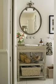 Rustic Wooden Bathroom Sink Stand