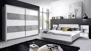 schlafzimmer set komplett 3 teilig betonoptik lichtgrau weiß modern 60867552
