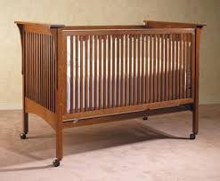 mission style cribs after stickley daddy types