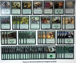 Mtg Werewolf Deck Ideas by Mtg Red Green Werewolves Deck Magic The Gathering Rare Cards Soi