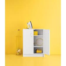 Sterilite 2 Shelf Storage Cabinet 2 Pack by 2 Door Stackable Storage Cabinet White Room Essentials Target