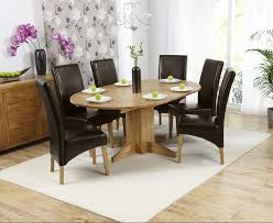 Ex-display Dorchester 120cm Solid Oak Round Extending Dining Table With 6  BROWN Cannes Chairs Table Glass Likable Solid Chairs Legs Base Round Avenue Oak Top Natural Lacquer Ausgezeichnet Small Wood Ding Tables Spaces Argos Extra Large Chestnut Finish Jacobian 42 Open Up To 60 Wood Top And Four Chairs 6484 Room With Hidden Leaves Missouri Pedestal 6 Set And Napolean 4 White