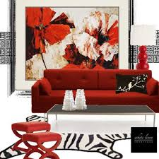 Black And Red Living Room Decorating Ideas 15 interior decorating ideas adding bright red color to modern