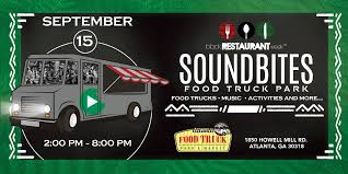 100 Food Trucks In Atlanta Soundbites Truck Park Black Restaurant Week
