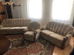 3 teilig sitzgarnitur sessel sofa alt rarität vintage