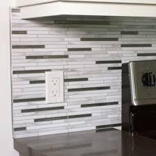 smart tiles smart edge brillo 0 27 in w x 18 in h silver self