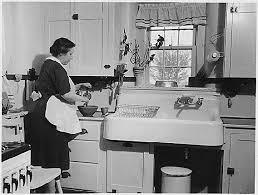Kitchen Layout Typical Of The Pre Practical Design Era Around 1920 1954