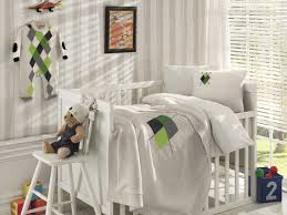 Bacati Crib Bedding by Nipperland Diamond Wool Blended 6 Piece Crib Bedding Set U0026 Reviews