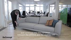 boconcept canape anders nørgaard talking about the cool fargo sofa anders
