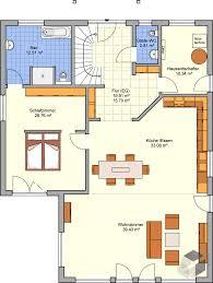 grundriss erdgeschoss mit großem schlafzimmer fingerhut