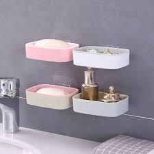 kunststoff saugnapf seife zahnbürste box teller halter