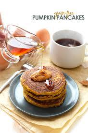 Easy Healthy Pumpkin Pancake Recipe by Paleo Pumpkin Pancakes Fit Foodie Finds