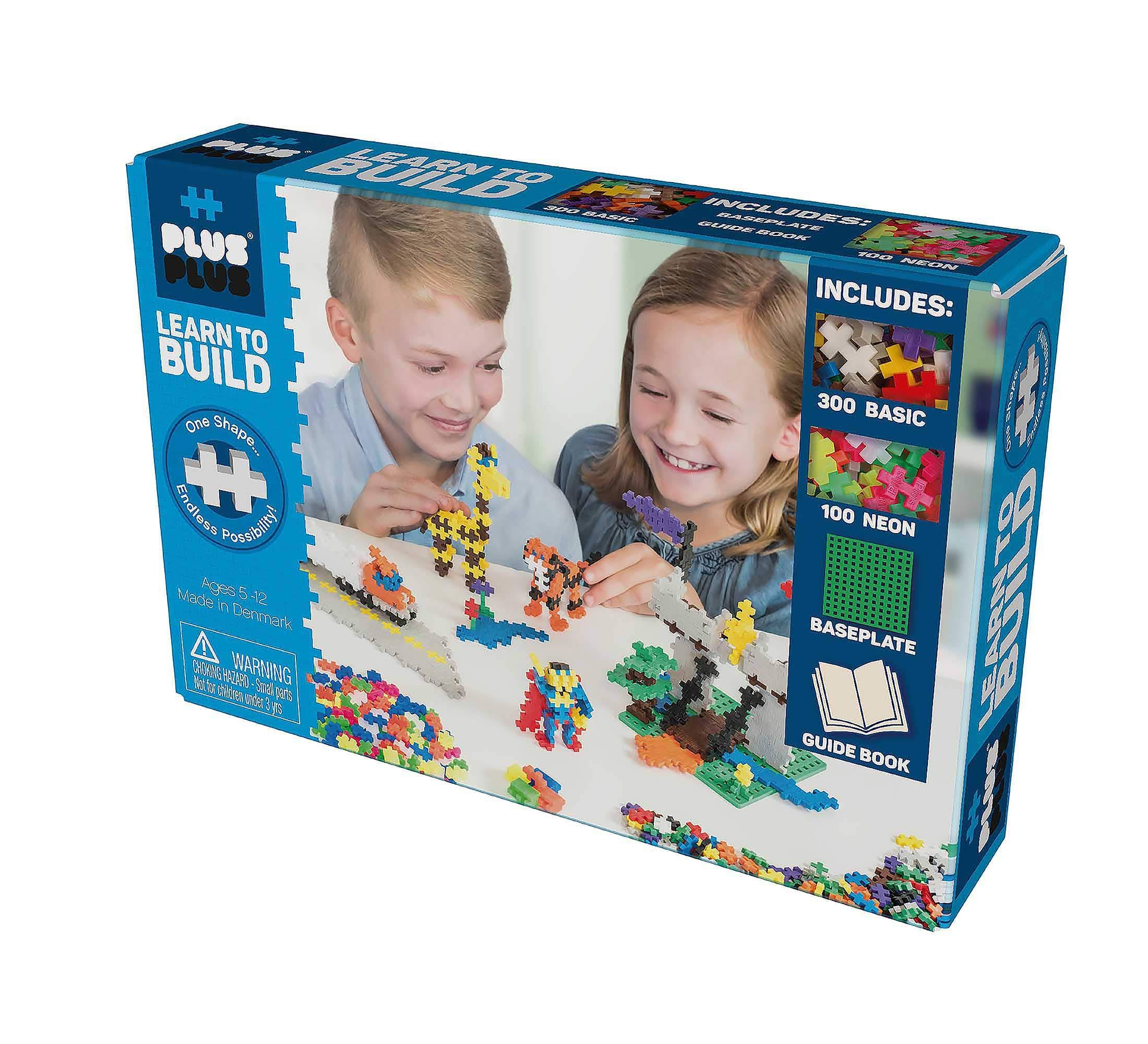 Plus Plus Learn to Build Toy Set