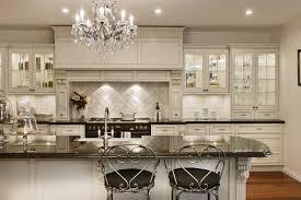 Bright Kitchen Interior Feat Antique White Kitchen Cabinets Paint