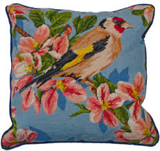 Needlepoint Pillows & Cushions Kits from NeedlepointUS