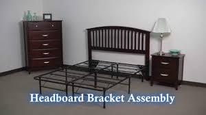 Leggett And Platt Headboard Attachment by Small Universal Headboard Footboard Bracket Youtube