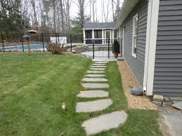 Stepping Stones Colonial Style - Google Search   Stepping Stones ... Garden With Tropical Plants And Stepping Stones Good Time To How Lay Howtos Diy Bystep Itructions For Making Modern Front Yard Designs Ideas Best Design On Pinterest Backyard Japanese Garden Narrow Yard Part 1 Of 4 Outdoor For Gallery Bedrock Landscape Llc Creative Landscaping Idea Small Stone Affordable Path Family Hdyman Walkways Pavers Backyard Stepping Stone Lkway Path Make Your
