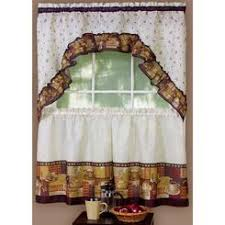 kitchen curtains and swags and valances