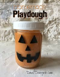 Pumpkin Spice Jello Playdough by Craft Ideas And More From Davet Designs