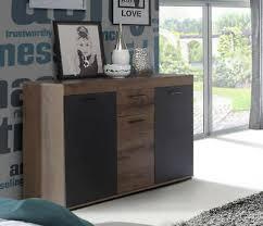 sideboard wohnzimmer kommode anrichte 136cm schlammeiche