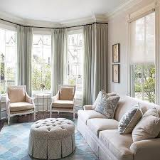 Living Room Curtain Ideas Beige Furniture by Beige Sofa Blue Pillows Design Ideas