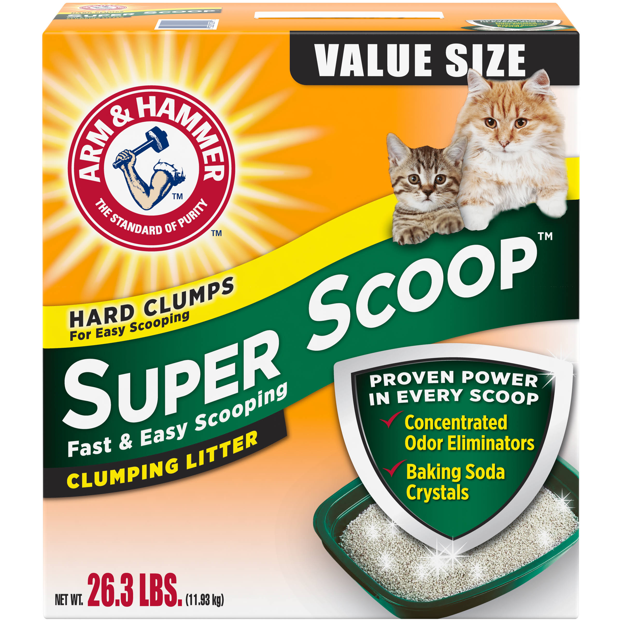 Arm & Hammer Super Scoop Clumping Scented Cat Litter